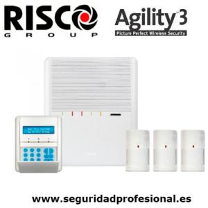 kit-risco-agility3-central+teclado-lcd+-3-pir