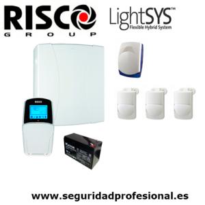 Kit-Risco-Lightsys2-+-bateria-+-sirena-interior-+-3-pir-interior-optex
