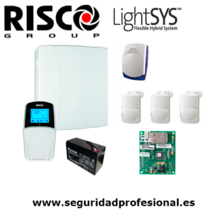 Kit-Risco-Lightsys2-+-bateria-+-sirena-interior-+-3-pir-interior-optex-+-modulo-ip