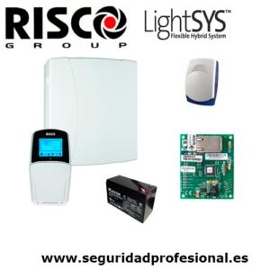 Kit-Risco-Lightsys2-+-bateria-+-sirena-interior-+-modulo-ip