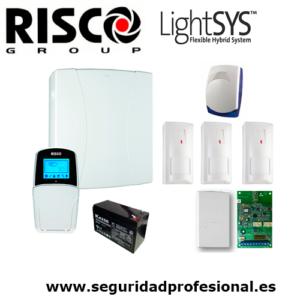 Kit-Risco-Lightsys2-+-bateria-+-sirena-interior+receptor-radio+-3-detectores-via-radio-risco