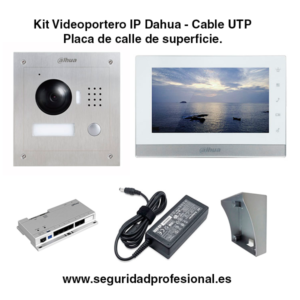 Kit-Videoportero-IP-Dahua-por-cable-utp-con-placa-de-calle-de-superficie