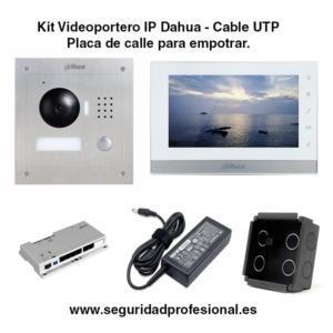 Kit-Videoportero-IP-Dahua-por-cable-utp-con-placa-de-calle-para-empotrar