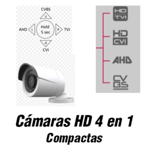 Cámaras compactas 4n1
