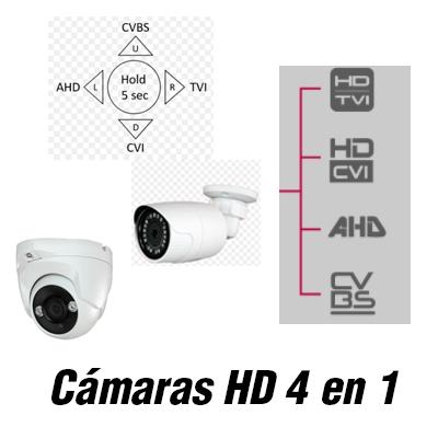 Cámaras 4n1