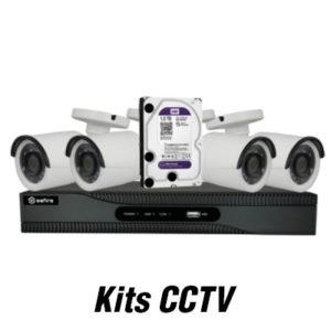 Kits de cámaras de seguridad